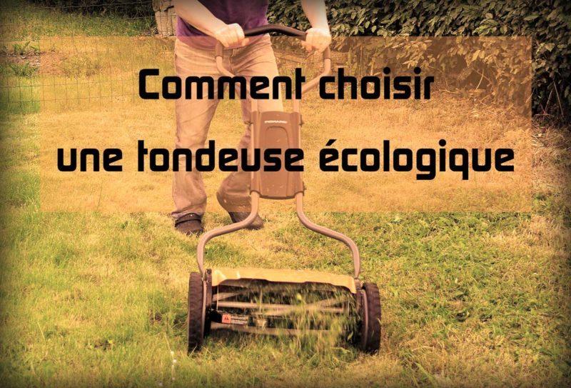 Tondeuse manuelle écologique zéro déchet
