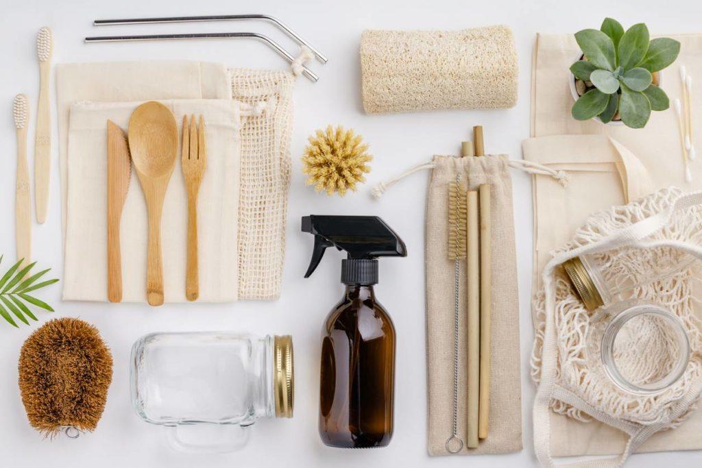 Produits réutilisables et zéro déchet pour la cuisine, la salle de bain