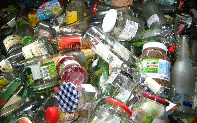Une partie des déchets est recyclée