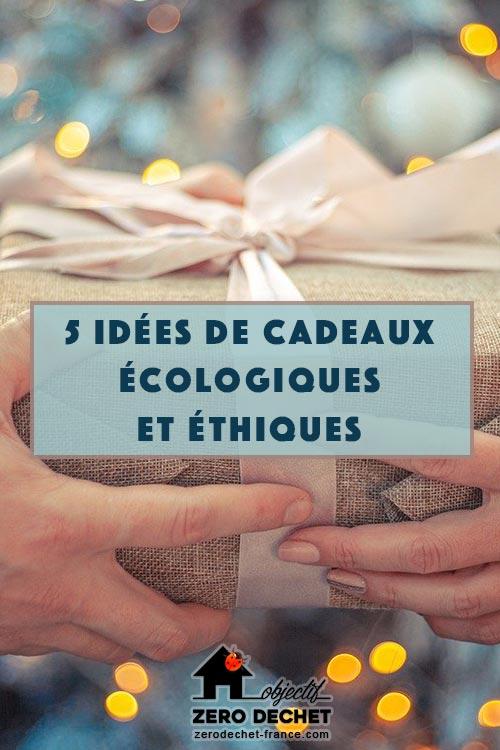 Offrir un cadeau écologique et éthique