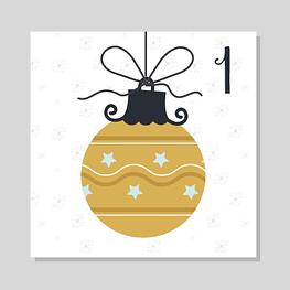 Calendrier de l'avent zéro déchet - 1 décembre