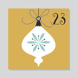 Calendrier de l'avent zéro déchet - 23 décembre